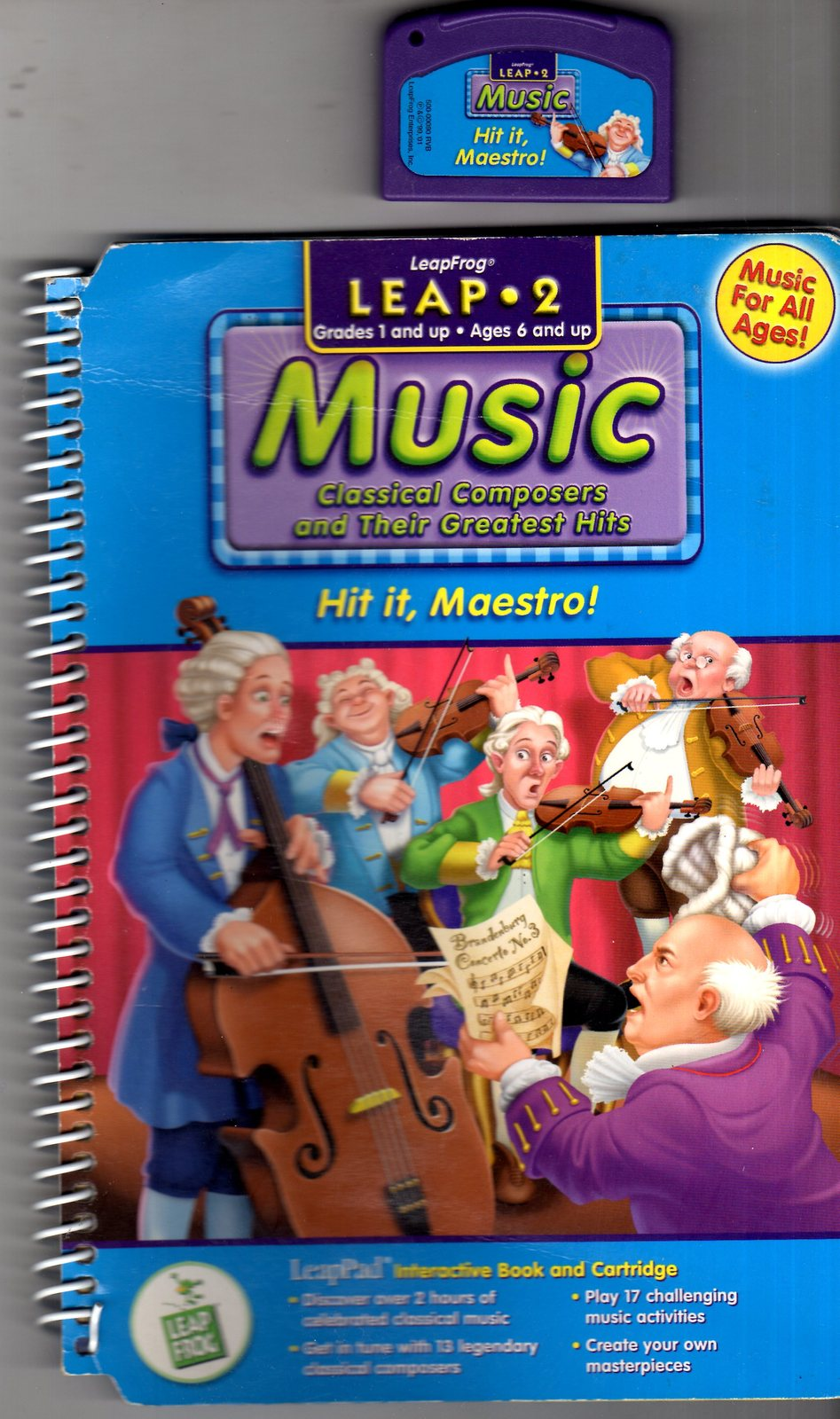 "Leapfroog - Music  ""Classical Composers & Their Greatest Hits"" Hit it, Maestro!"