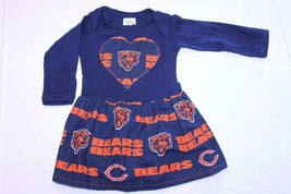 Infant/Baby Girls Chicago Bears 6 Months Dress Rabbit Skins - $18.69