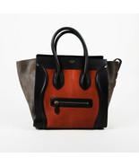 Celine Mini Luggage Calf Hair Leather Tote Bag - $1,235.00