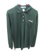 Coca-Cola Dark Green Long Sleeve Polo Shirt - UNIQUE ITEM - $32.50
