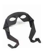 MASK Black Eyemask Tie On Mardi Gras  Fabric Forum SHIPS FREE - $8.86
