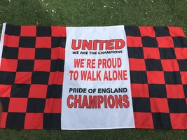 Manchester United - Large Champions Flag - $12.89
