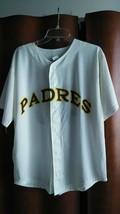 SAN DIEGO PADRES SGA RETRO JERSEY 40TH ANNIVERSARY 2009 ADULT XL MLB BAS... - $13.81