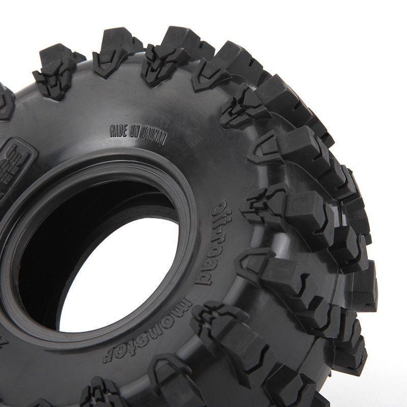 4Pcs 2.2'' Rubber Tires For Traxxas Trx-4 D90 D110 Axial Scx10 1