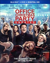 Office Christmas Party (2017, Blu-ray/DVD)