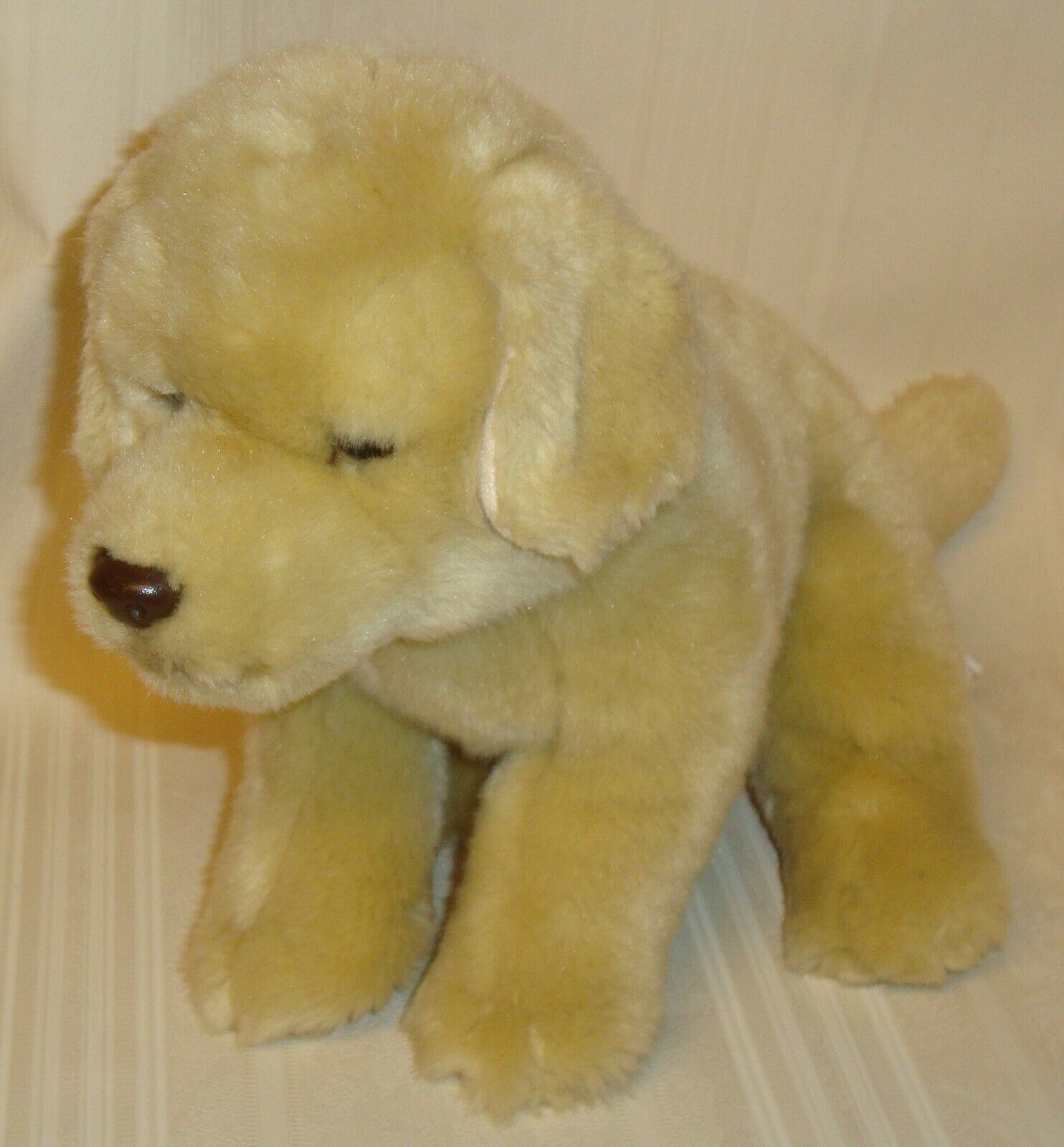 Primary image for Toys R Us Yellow Lab Golden Retriever Stuffed Plush Puppy Dog  2012