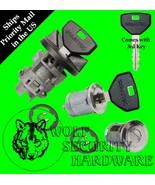 Dodge Ram Pickup 91-93 Others Ignition Switch Lock Cylinder & Door Set 3... - $58.96