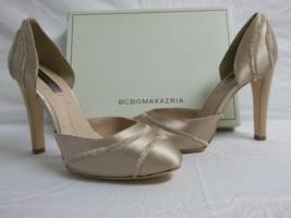 BCBG Max Azria Size 7 M Amaris Blush Satin Pumps New Womens Shoes - $75.54