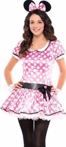 Pink Minnie Mouse Junior Costume Junior Small (3-5) Halloween - $14.84