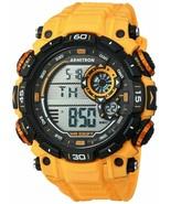 Armitron 40/8397YLW Men's Yellow Resin Watch, 100 Meter Water Resis, Chr... - $24.50