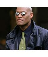Matrix Morpheus Round Sunglasses Brand Desig Clamp Nose Mini Sun Glasses... - $7.89