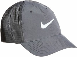 NEW! NIKE Adult Legacy 91 Tour Fitted Mesh Hat 727031-Dark Grey/White [S/M] - $56.89