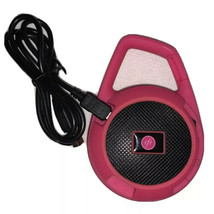 The Everyday Wireless Speaker Hot Pink Used Excellent Condition! FabFitF... - $14.03