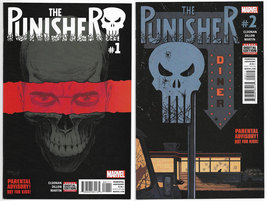 The Punisher #1 & #2 Vol 11 2016 Marvel Comics (NM) - $9.99