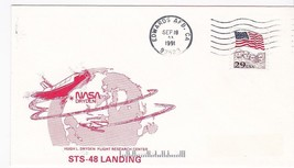 STS-48 LANDING NASA DRYDEN EDWARDS AFB CA SEP 18 1991 - $1.98