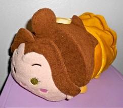 "Disney Tsum Tsum Belle Beauty and the Beast Plush Pillow 11"" Medium Yell... - $19.77"
