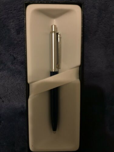 Sheaffer Sentinel Blue With Nickle Plate Trim Ballpoint Pen
