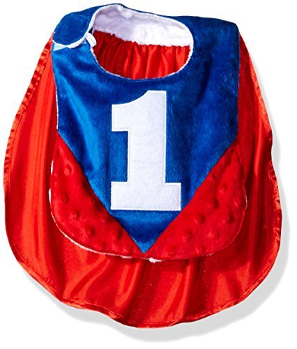 Primary image for Mud Pie Baby Boys' Applique Bib, Cape 1, One Size