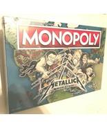 2020 Metallica World Tour Monopoly Board Game New - $98.01