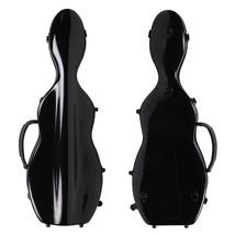 4/4 Violin Case Cello Shaped Full Size Black Fiberglass Brand New Great ... - $108.90