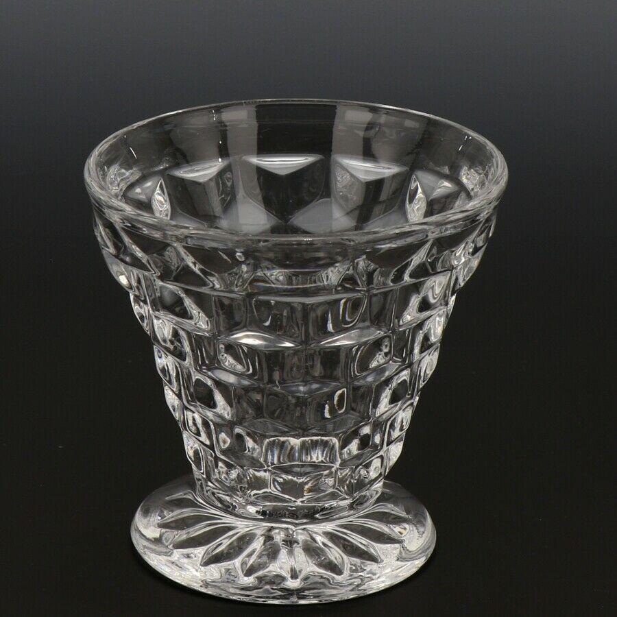 Fostoria American Crystal Tumbler 3 OZ Cocktail Cone Shape