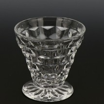 Fostoria American Crystal Tumbler 3 OZ Cocktail Cone Shape  - $3.96