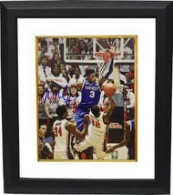 Nerlens Noel signed Kentucky Wildcats 8x10 Photo Custom Framed vs Ole Miss - $88.95