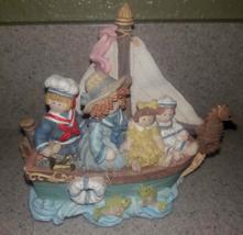 Heart Tugs San Francisco Music Box Company HT Nautical Rag Doll Figurine... - $4.36