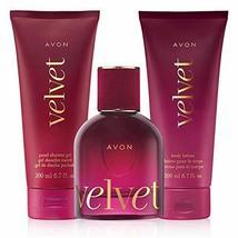 Avon Velvet eau de parfum 3 piece set - $49.00