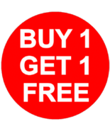 MON-TUES BUY ANY 1 GET 1 EQUAL OR LESSER VALUE FREE  DEAL MAGICK  - $0.00