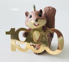 Squirrel Hallmark Christmas Ornament Fabulous Decade #1 in Box 1990 - $19.34