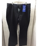 Black Wash Jeans Ashley Stewart 18 Petite Boot Cut Ashley Stewart Woman'... - $18.69