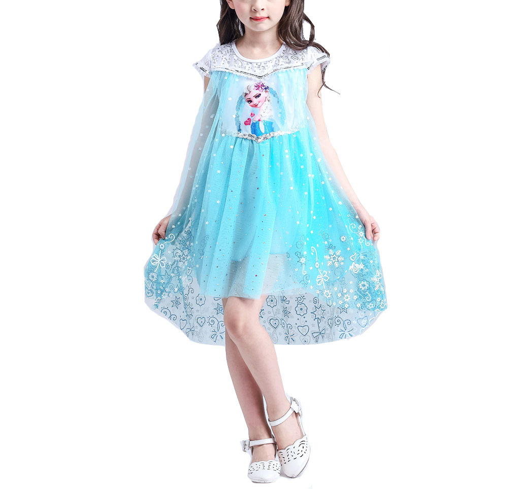 Primary image for Girl's Princess Elsa Halloween Costume Dress