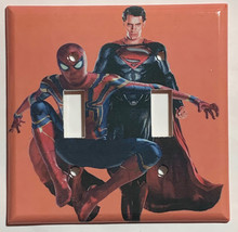 Spiderman Superman Light Switch Outlet Toggle Rocker Wall Cover Plate Home Decor image 3