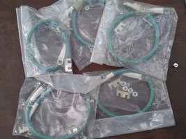"""7FFF67 5 COUNT #6 GROUND STRAP, 18"""" LONG, NEW IN FACTORY POUCHES - $19.57"""