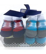 Baby Newborn Crib Shoes Booties Socks Size 0 12 Months 4 Pairs By Cutie Pie - $19.57