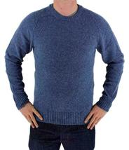 Levi's Men's Wool Pullover Crew Neck Elbow Patch Sweater New w/Defect S image 5