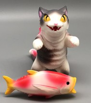 Max Toy Gray Spotted Negora w/ Fish image 2