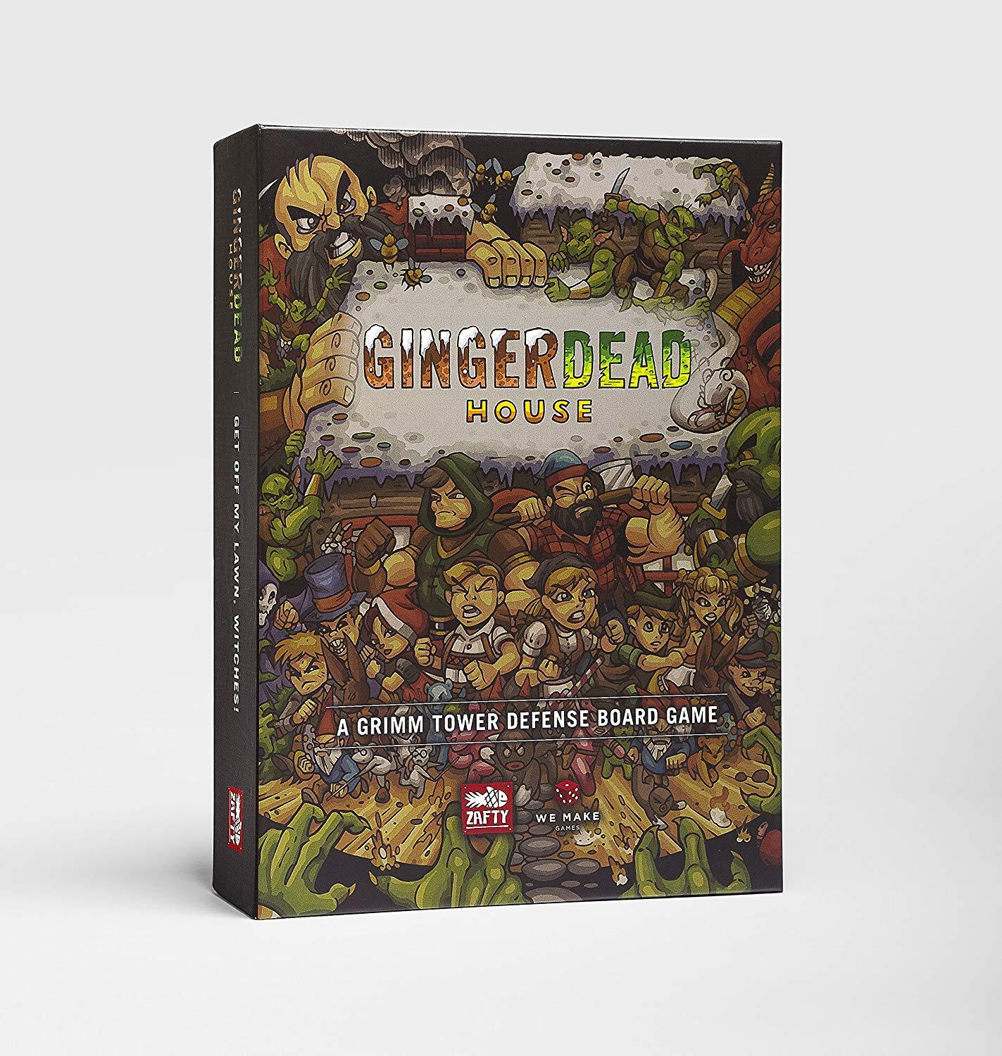 Kickstater gingerdead house   a grimm tower defense board game