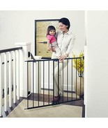 """47.85"""" Wide Easy Swing & Lock Baby Gate: Ideal for Wider Areas and stair... - $96.13"""