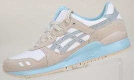 Asics Women's Gel-Lyte Iii Sneaker WHITE LIGHT GREY  H6U9L RUNNING walki... - $54.99