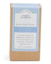CST Nature's Provender Finest Formula Egyptian Cotton Bath Bar Soap - $12.00