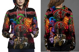 New Insane Clown Posse HOODIE FULLPRINT FOR WOMEN - $42.99+