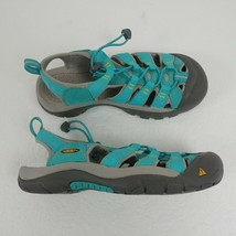 KEEN Newport H2 Sport Sandals Ceramic Blue Yellow 1008205 Womens Size 8.... - £29.95 GBP