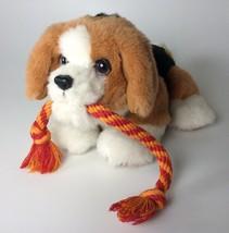 Fur Real Friends Tuggin' Pup, Beagle Puppy, 2006 Hasbro - $15.99
