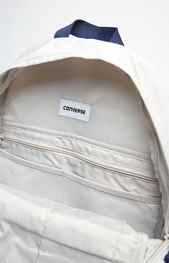 MEN S GUYS CONVERSE POLY CHUCK PLUS 1.0 PALE WASH LAPTOP Backpack NEW ... 3588b5d1db957