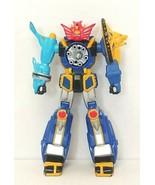 "MMPR Power Rangers Ninja Storm Megazord 5.5"" Action Figure 2002 Bandai Used - $13.00"
