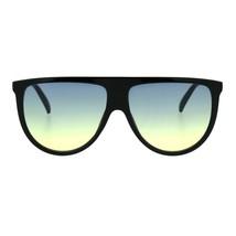 Retro Fashion Womens Sunglasses Half Oval Frame Ombre Color Lens UV 400 - $10.95