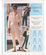 Women Pattern Misses' Size 4 to 22 Dress Pants Casual Step by Step MPN 0... - $14.00