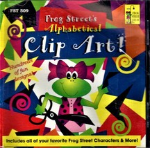 Frog Street Alphabetical Clip Art! Computer Software - $9.00